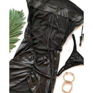 لباس خواب یقه باز